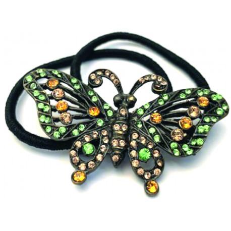 Mariposa cristales