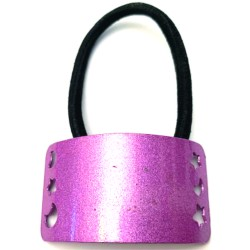 Coletero metálico rosa metal.