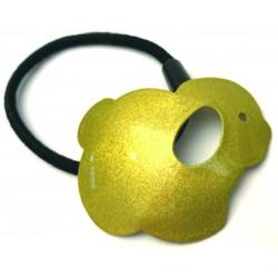 Perrito amarillo metal