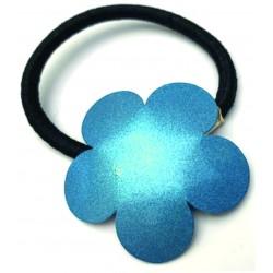Flor azul metal